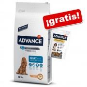 Advance 7,5 a 14 kg + snack Advance ¡gratis! - Maxi Light pollo y arroz - 14 kg