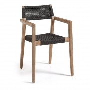 Kave Home Silla Vetter negro