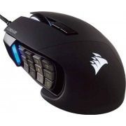 Corsair Scimitar Pro RGB Optical MOBA/MMO Gaming Mouse, C