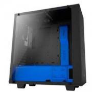 Кутия NZXT S340 Elite Black/Blue Mid Tower, NZXT-CASE-S340W-B5