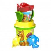 Scooby-Doo közepes homokozó készlet, 7 részes