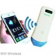 Ecógrafo Portátil Sem fios SonoStar B/W compatível com Smartphones, Tablets e PC'S: Sonda Linear de 14 MHz/128 elementos