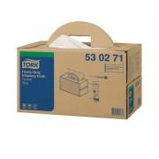 Tork Premium 530 werkdoek 1-lgs blauw 43x39 doos à 200 vel handybox (530271)