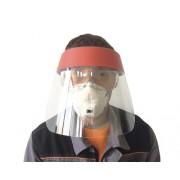 Suport & viziera cu prindere pe cap 33x23 cm, material PET-G antiaburire