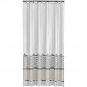 Sealskin Shower Curtain Marrakech 180 cm Silver 235281318