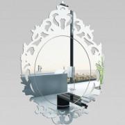 stickers folies Miroir Plexiglass Acrylique - Baroque 1