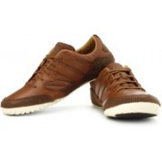 Clarks Midhurst Ride Sneakers For Men(Brown, White)
