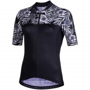 Nalini Moderna Women's Short Sleeve Jersey - L - Black/Grey