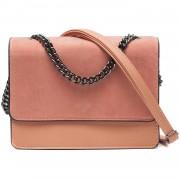 Bag Soft Pink Foldover - Tassen