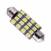 Bec LED Festoon - Sofit C5W 16 SMD 36mm