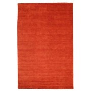 RugVista Handloom fringes - Rost / Röd matta 200x300 Modern Matta