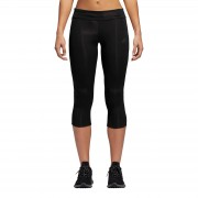 adidas Women's Response 3/4 Running Tights - XS - Black