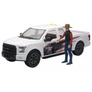 PBR 1:14 Scale Professional Bull Riders Ford F-150 Pick Up Truck with Bull Rider