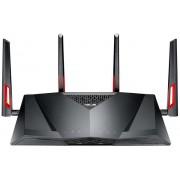 Router Wireless ASUS DSL-AC88U, Gigabit, Dual Band, 3100 Mbps, VDSL2/ADSL, 3 Antene externe (Negru)