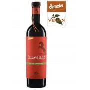 Kooperative Lunaria Orsogna Bucefalo Rosso Vino da uve appassite d'Abruzzo DOP Rotwein Bio