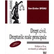 Drept civil. Drepturi reale principale Ed. 2 - Dan-Stefan Spanu