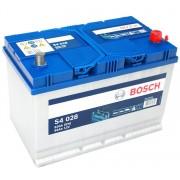 Bosch S4 12V 95Ah 830A Jobb+ ázsiai autó akkumulátor