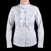Női kék lila fehér ing Willsoor kockás 760