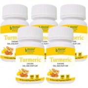 Turmeric Capsules 60s Pack of Five