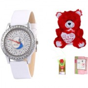 Timebre Women Teddy love Casual Analog Watch 010