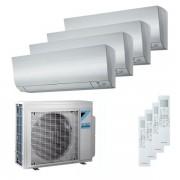 Daikin Condizionatore Daikin Perfera Quadri Split 5000+7000+9000+18000 Btu Inverter A++ Wifi Unità Esterna 6,8 Kw