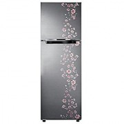 Samsung RT27JARMALX/TL 253 Litres Doubel Door Frost Free Refrigerator (Orcherry Peach Silver)