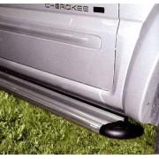Marche pieds ALU S50 JEEP GRAND CHEROKEE - 1999 - accessoires 4X4 MISUTONIDA