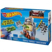 Hot Wheels Track Set with Triple Target