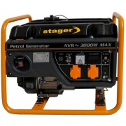 Generator curent electric pe benzina Stager GG 3400, 2.600 W