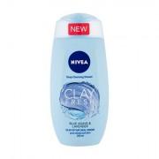Nivea Clay Fresh doccia gel con argilla 250 ml tonalità Blue Agave & Lavender donna