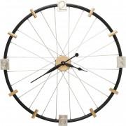 Kare Wandklok Spoke Wheel 80 cm