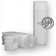 Square Dime Coin Tube(Qty=5 Tubes)