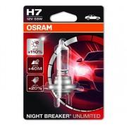Osram Night Breaker Unlimited H7 1db - 64210NBU-01B autós izzó