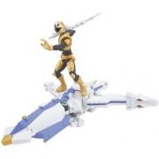 Power Rangers Power Ranger Zord Vehicle W/Figure Octozord With Gold Ranger