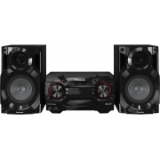 Panasonic Sc-Akx200e-K Mini Hi Fi Potenza 400 Watt Lettore Cd Radio Usb Mp3 Subwoofer - Sc-Akx200e-K