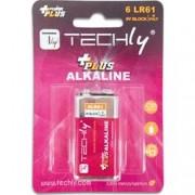 Techly Blister 1 Batteria Power Plus Alcalina 6LR61 9V