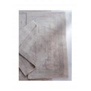 Cawö Keerbare badmat ca. 60x100cm Cawö zilverkleur