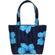 Cascara Women Black, Blue Polyester Hand-held Bag