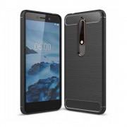 Carcasa TECH-PROTECT TPUCARBON Nokia 6.1 (2018) Black