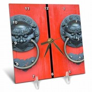 3dRose Danita DelimontTemplosSingapur, Chinatown, Diente de Buda reliquia temple-as32cmi0057Cindy Miller HopkinsEscritorio Relojes, 1