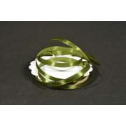 Szatén szalag 6mmx22,86m oliva zöld