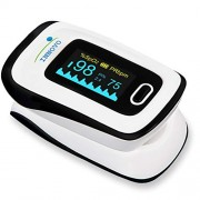 Innovo Deluxe Fingertip Pulse Oximeter with Plethysmograph and Perfusion Index