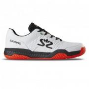 Pantofi Salming șoim curte pantof bărbaţi Alb / Negru