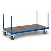 Rollcart Schwerer Rungenwagen mit Holzboden 1600x800mm