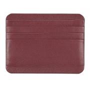 Adamis Women's Genunie Leather Credit Card Holder VW7 Wine