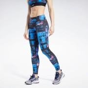 Reebok Workout Ready MYT Bedrukte Legging - Black - Size: Extra Small