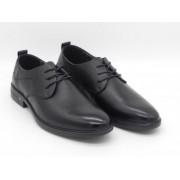 Pantofi barbati, Fenix, model 87508 piele naturala, negru