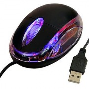 Adnet USB Optical Wired Mouse (Pack of 2)