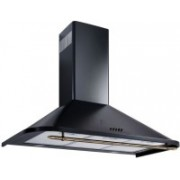 Kaff KLAUS 90 (FIVE YEAR WARRANTY) Wall Mounted Chimney(Black 1180 CMH)