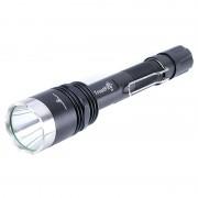 Lanterna reincarcabila T6, aluminiu, acumulator